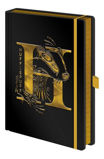 Harry Potter Foil Hufflepuff A5 Notebook